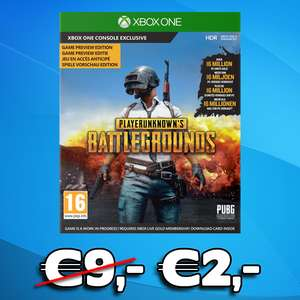 PlayerUnknown's Battlegrounds: Digitale Download Code (Xbox One) @ Gameshop Twente