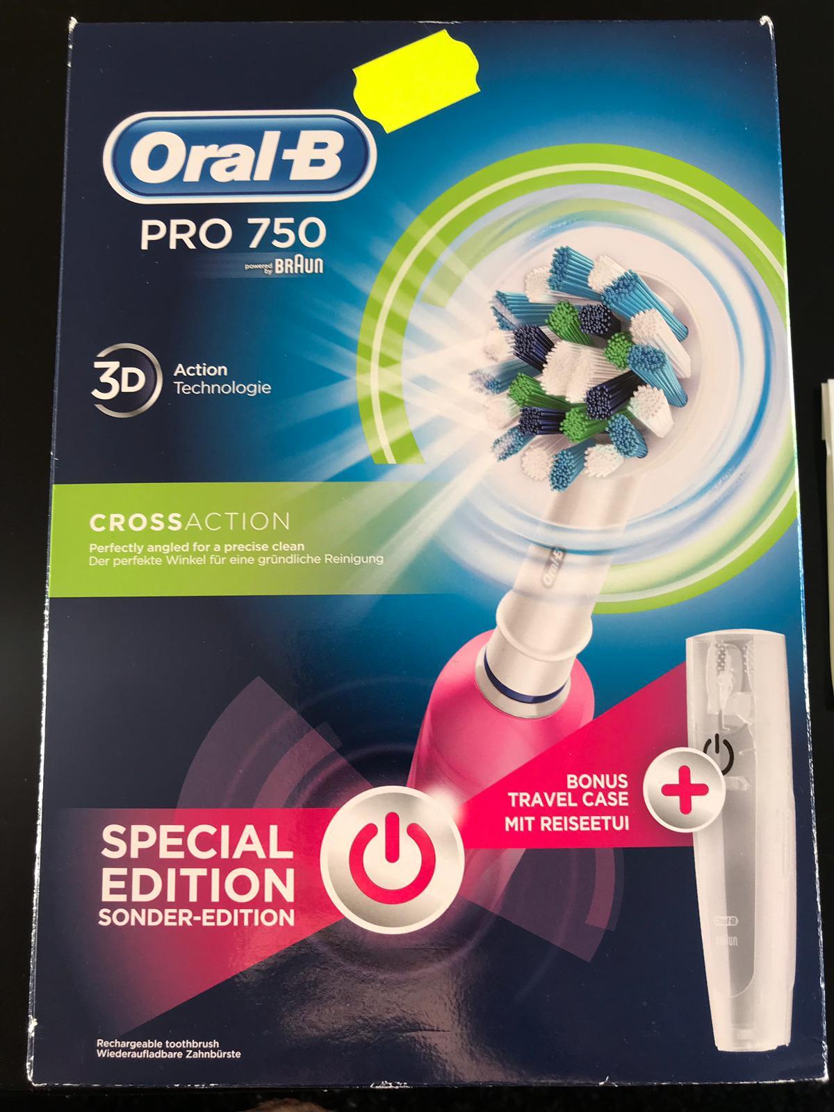 Oral-B PRO 750 voor maar €9 met Extravoordeelkaart @Kruidvat