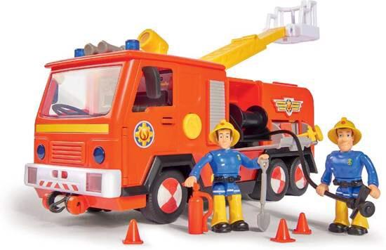 Brandweerman Sam Brandweerwagen Jupiter 2.0