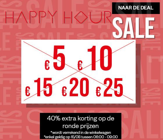 Do 6 - 9u: 40% EXTRA korting op Ronde Prijzen SALE @ Maison Lab