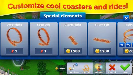 RollerCoaster Tycoon 4 Mobile gratis @ App Store