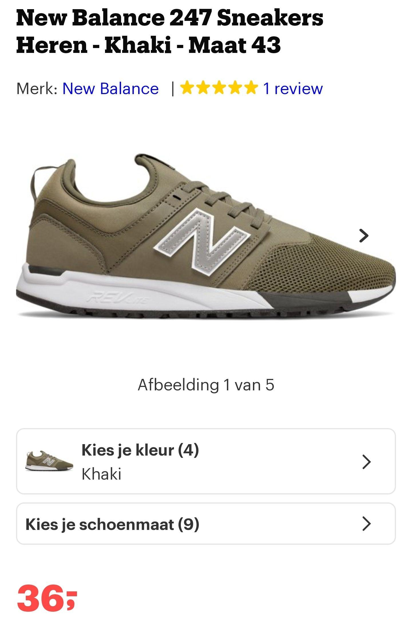 Nee Balance sneakers maat 43