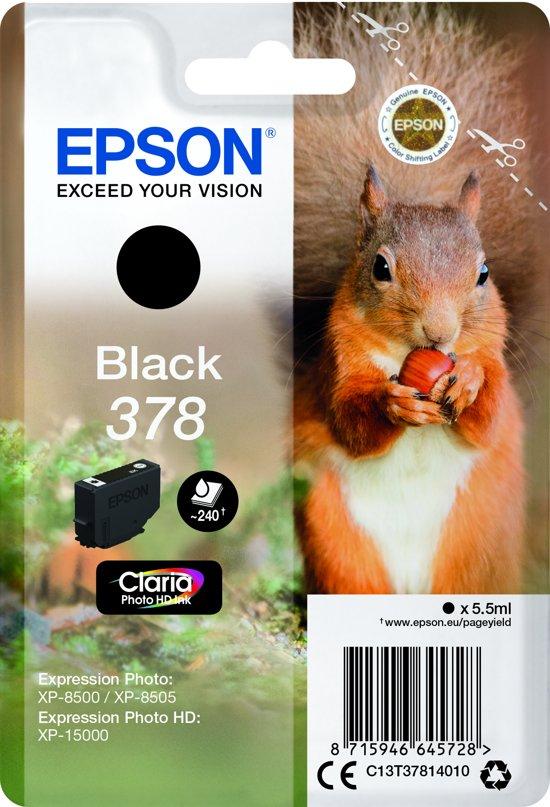 Epson 378 meerder kleuren in de aanbieding zwart 5.19 andere kleuren iets duurder