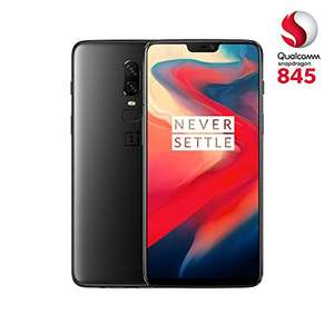 OnePlus 6 128GB + 8GB @Amazon.de