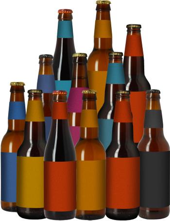 "Het ""ANTI-VERSPILLING"" bier pack - 12 flessen @ Hopt"