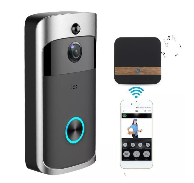 720P WiFi smart camera video deurbel