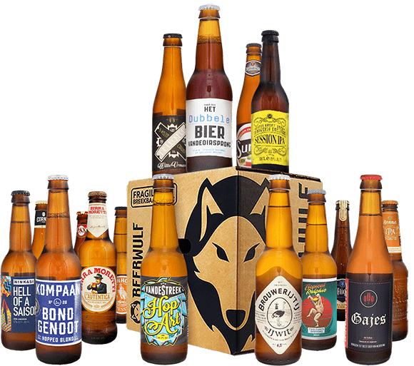Ontdekkingspack Beerwulf met 16 biertjes