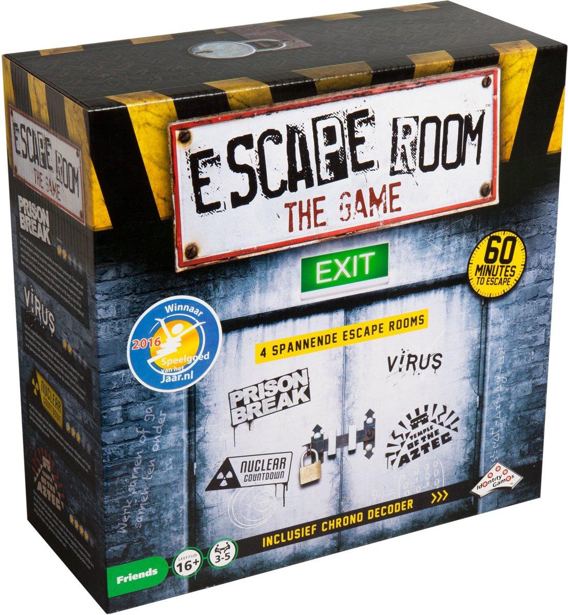 Escape Room the Game €16,80 (Blokker - lokaal) en Escape Room the Game - 2 players €2,50 (Kruidvat, landelijk)