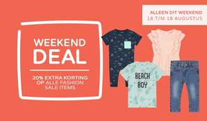 20% extra korting op alle Fashion Sale items @ Prenatal