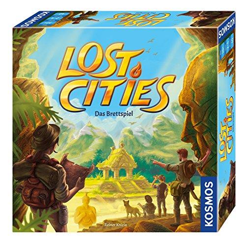 Lost Cities het Bordspel (Duitse Versie)
