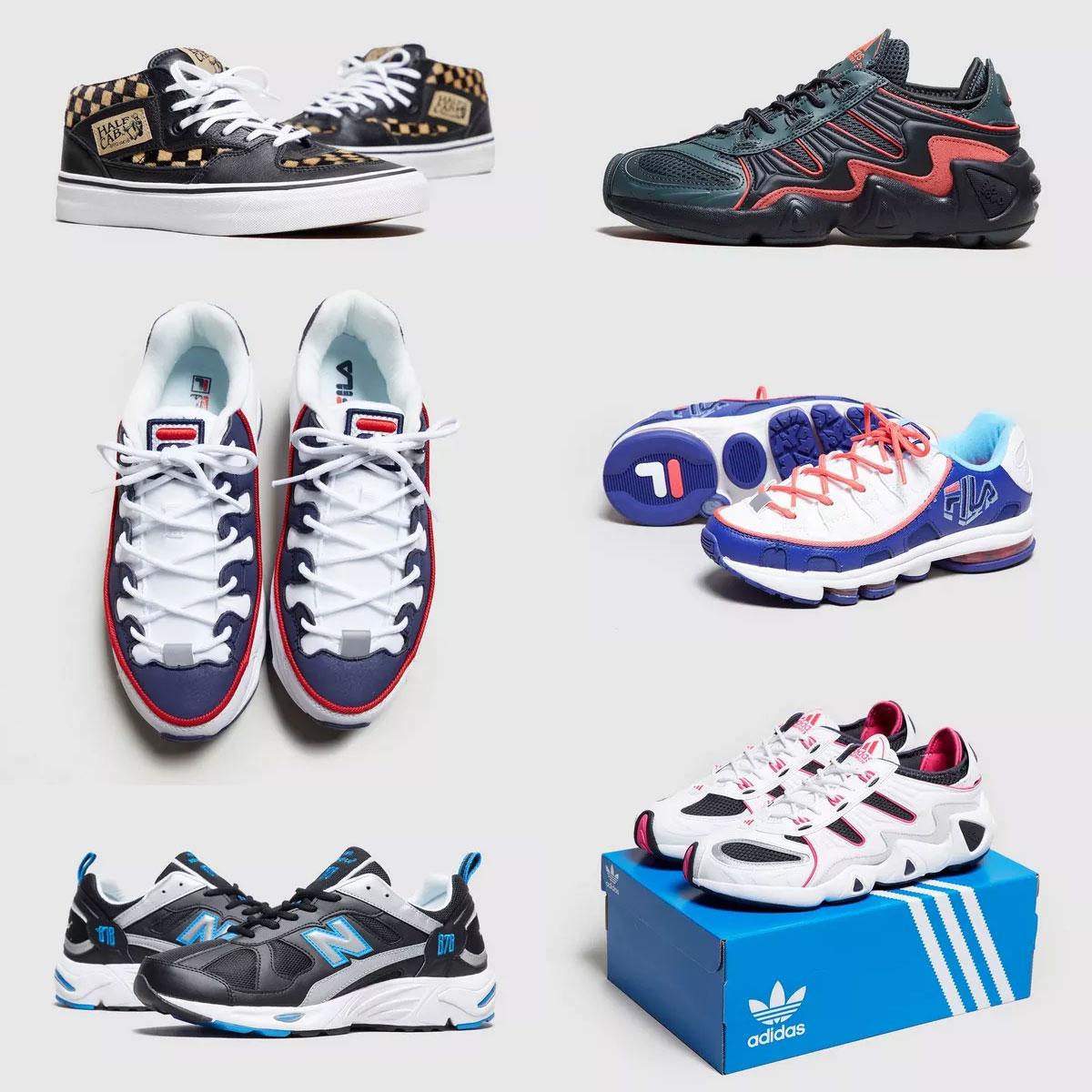 Sneakerdeals tot -77% korting + gratis verzending met code @ Size?