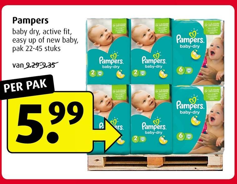 Pampers voor €5,99 @ Nettorama / Boni