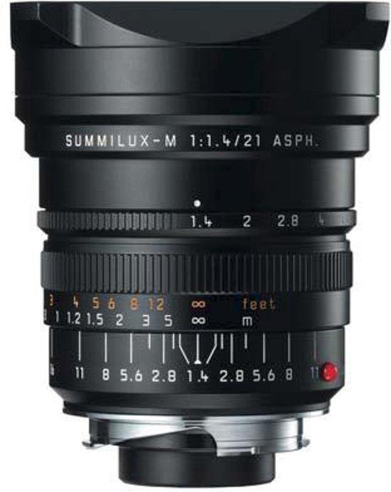 Leica Summilux-M 21 mm f/1.4 ASPH - Zwart - €31