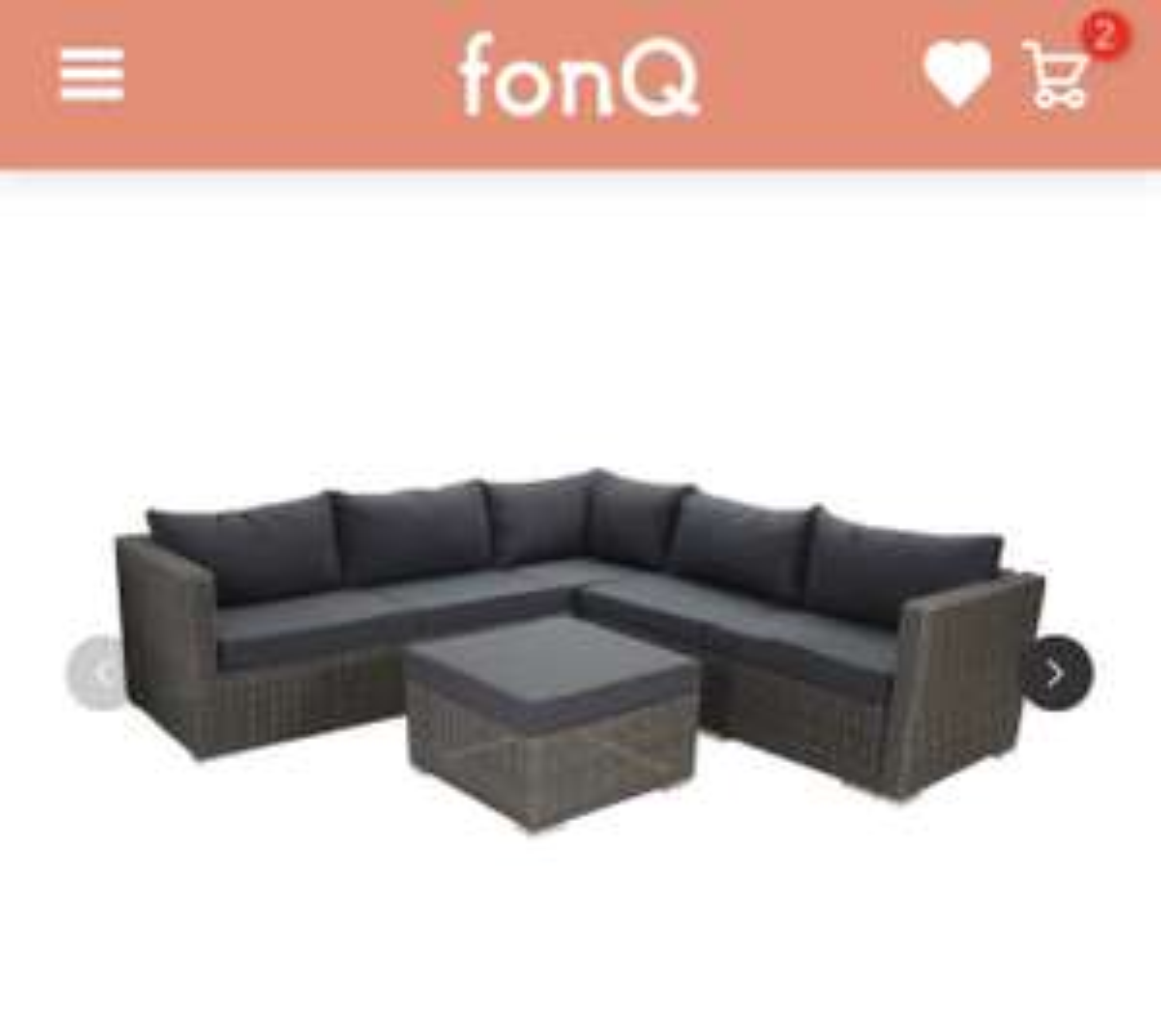 SenS-Line Granada Loungeset (-50%)  @Fonq.nl