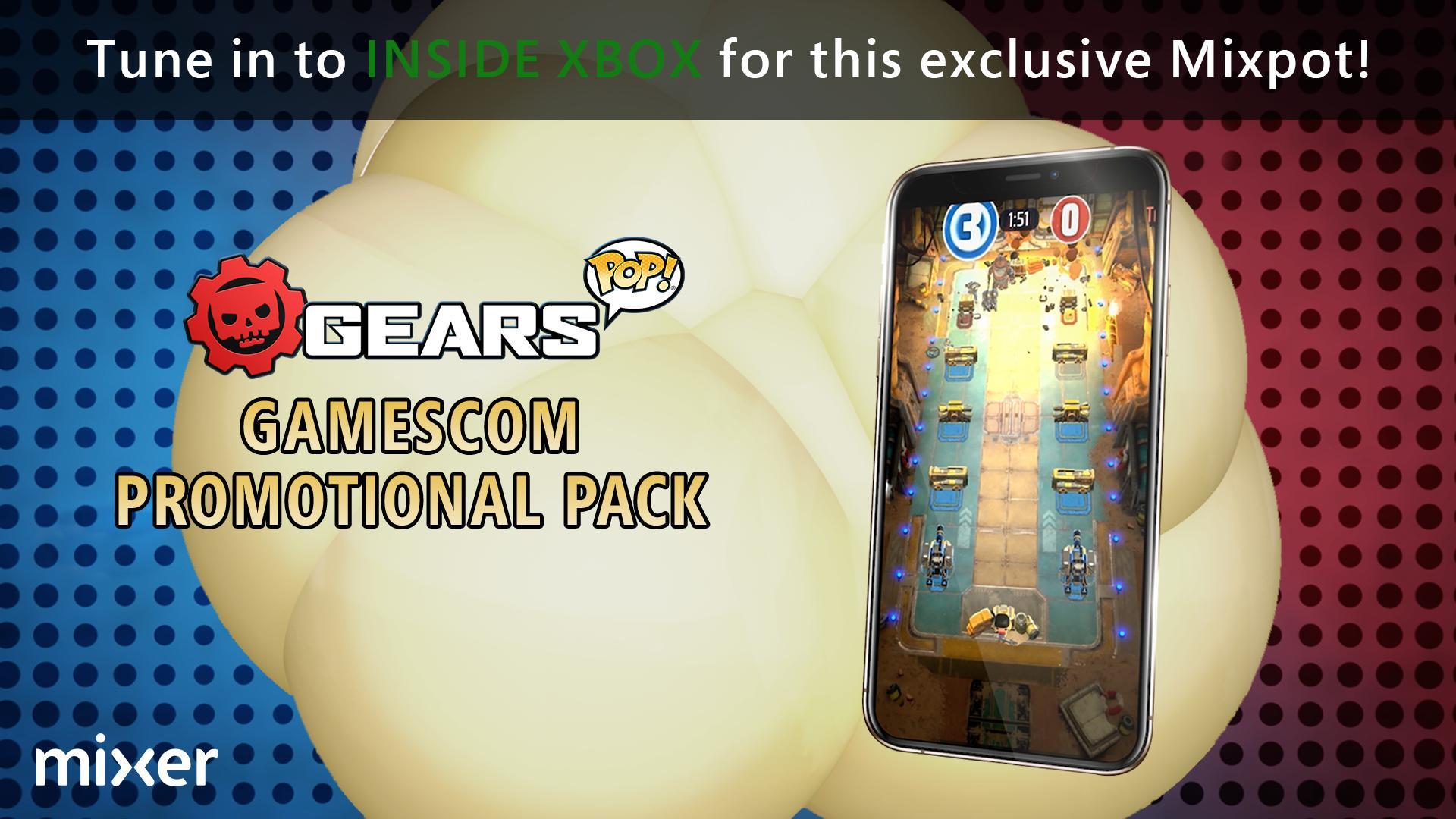 Gratis Gears POP! Pins door kijken Inside Xbox @ Mixer