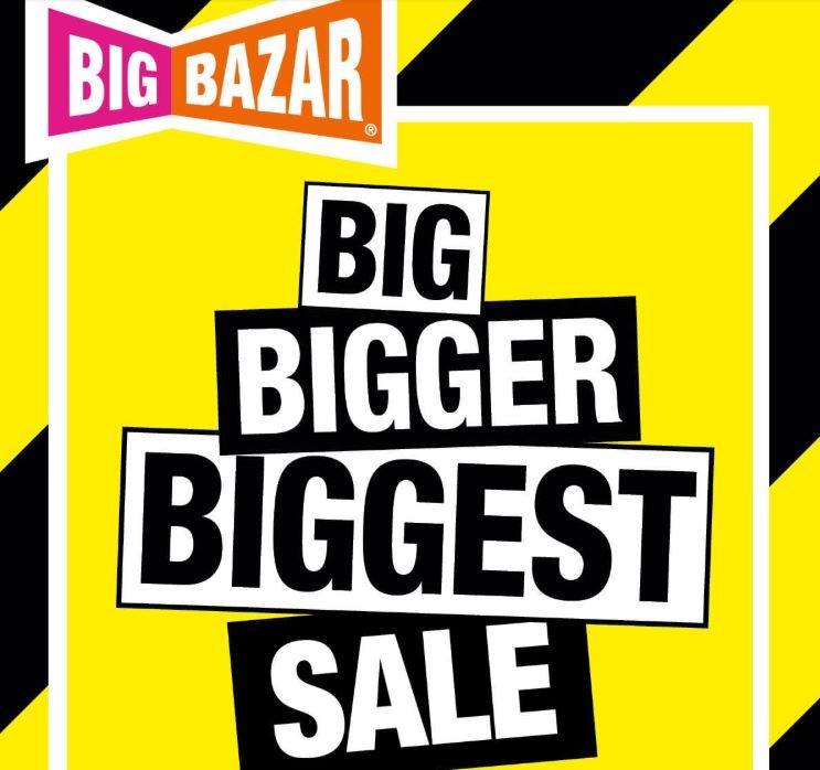 Zomersale 70% korting / 1+1 gratis en meer @ Big Bazar