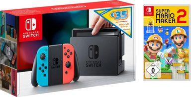 [Grensdeal] Nintendo Switch + Mario Maker + 35,- tegoed @Otto
