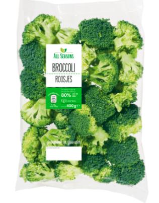 Broccoli roosjes bij Aldi 25% korting