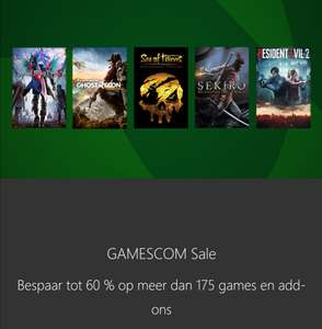 GAMESCOM Sale met o.a. FIFA The Journey-Trilogie @ Xbox Store
