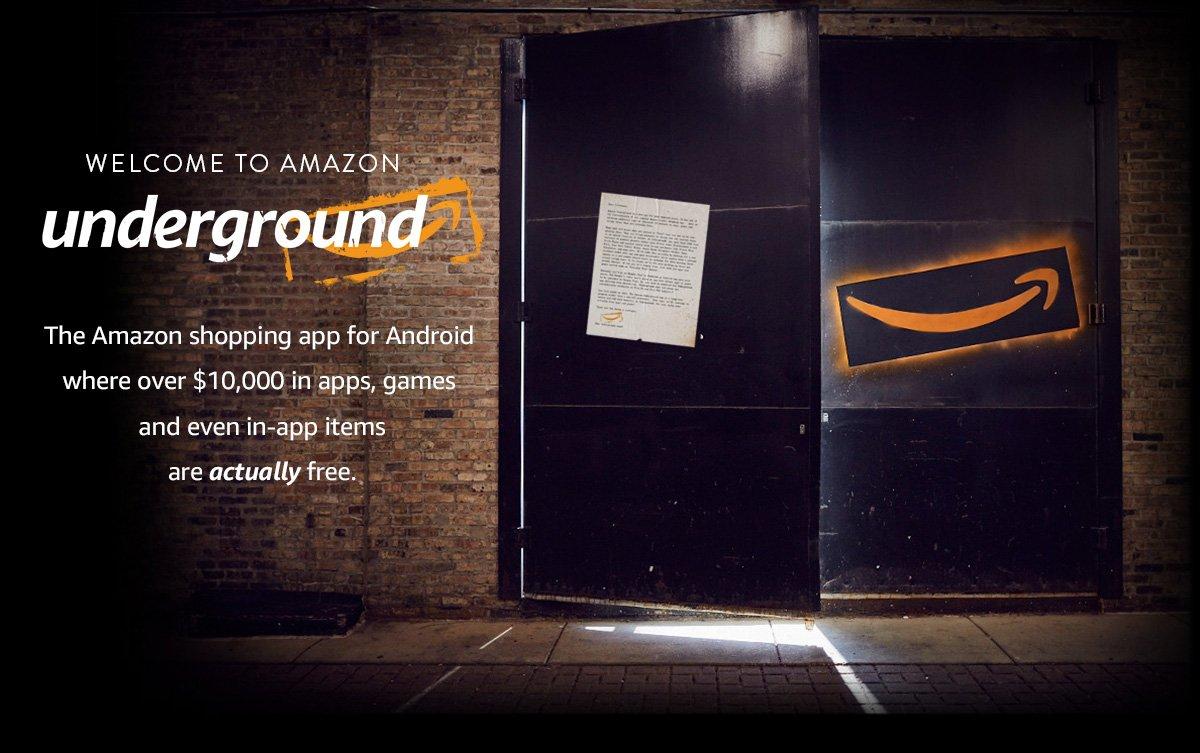 $10.000 gratis aan Android apps en games @ Amazon Underground