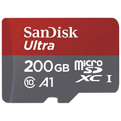Sandisk Micro SD kaartje - 200gb - € 25,-