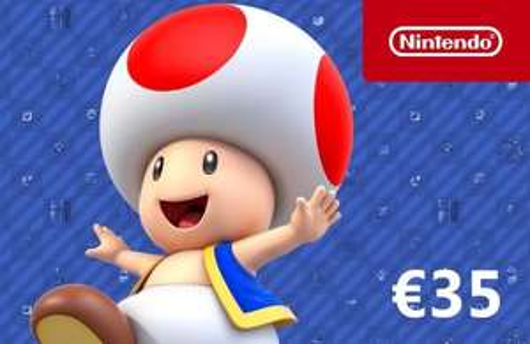 Nintendo tegoed kaarten 35 euro
