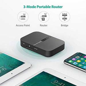 RavPower Filehub. Powerbank + Wifi router + SD-kaart/USB lezer