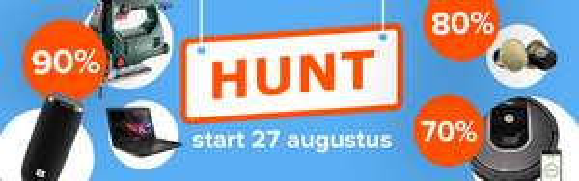 iBOOD Hunt op dinsdag 27 augustus