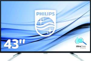 "Philips BDM4350UC - 43"" 4K IPS Monitor @ Bol.com Plaza"