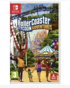 RollerCoaster Tycoon Adventure Nintendo Switch