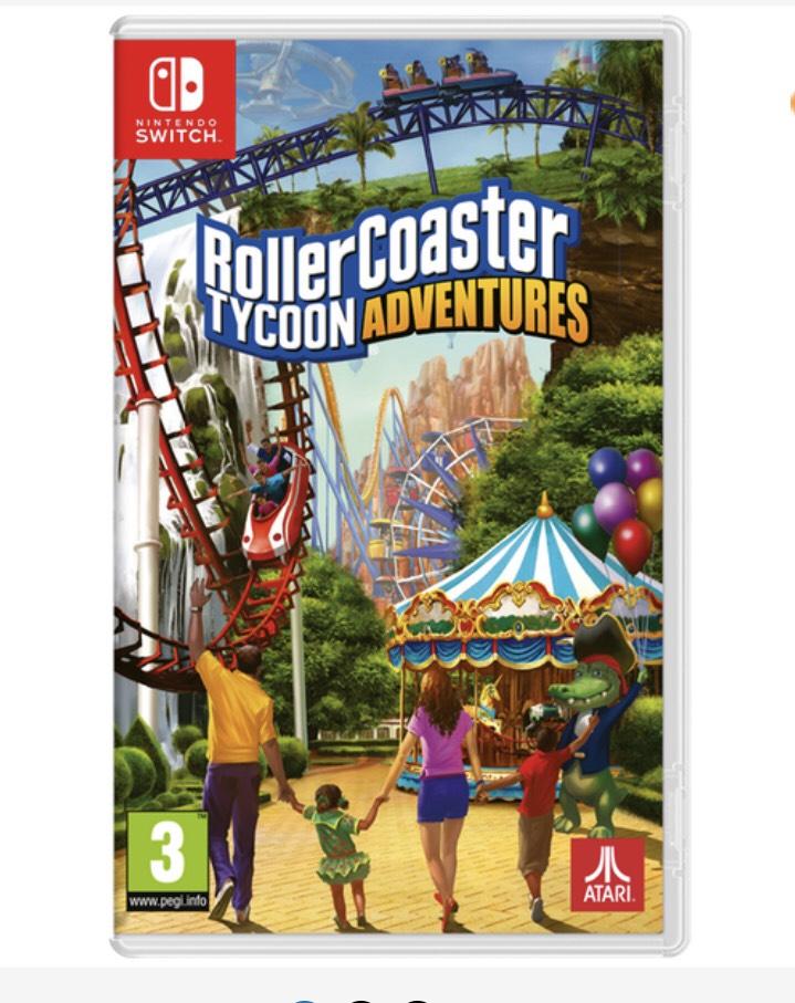 RollerCoaster Tycoon Adventure Nintendo Switch