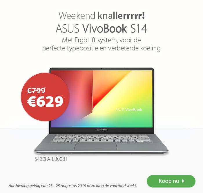 Asus VivoBook S14 S430FA-EB008T Laptop @ Asus Shop