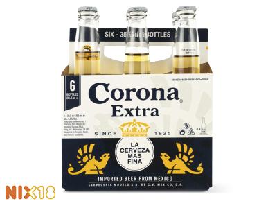 Corona 2 halen (sixpack) 1 betalen bij Hoogvliet