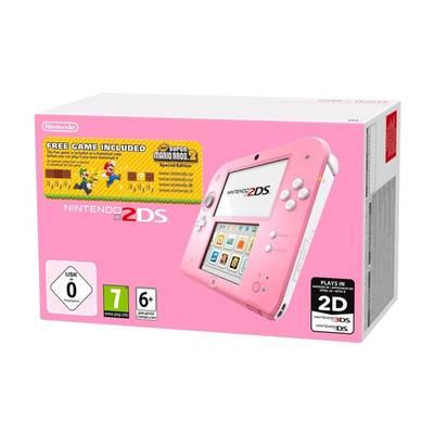 Nintendo 2DS (roze) + Super Mario Bros. 2 voor €99,99 @ Kruidvat