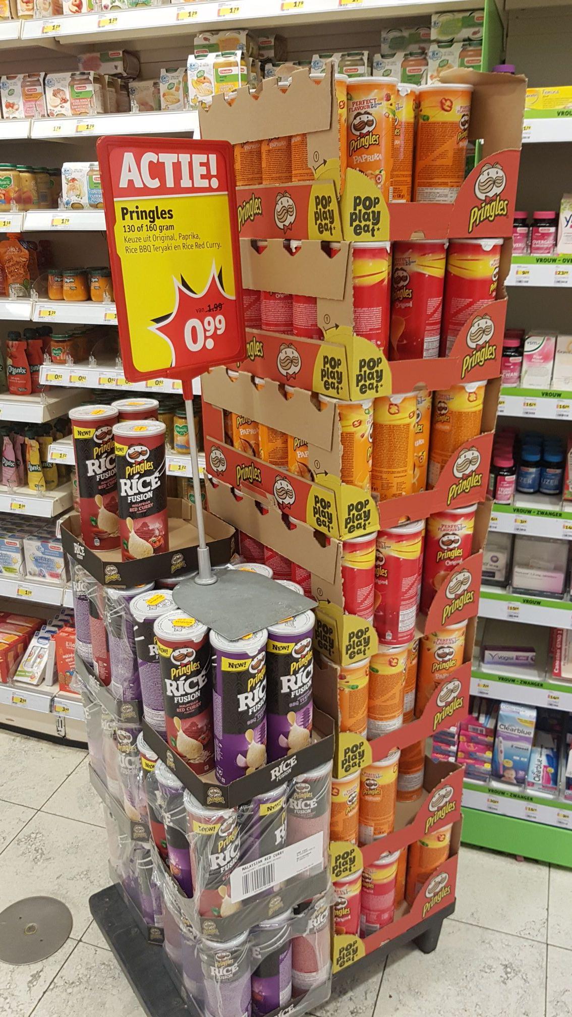 Pringles voor 99ct bij Kruidvat