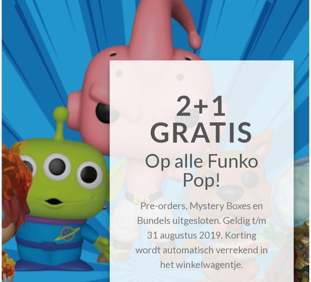 Alle Funko POPs 2+1 gratis
