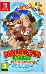 Donkey Kong Country Tropical Freeze voor de Switch