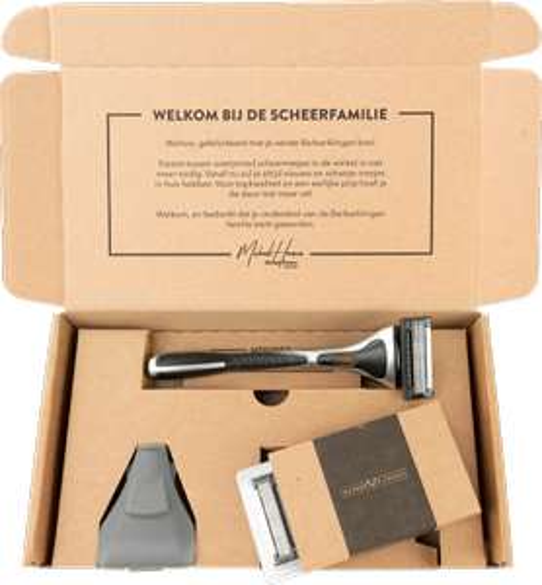 Barberklingen starter kit  voor 99 cent ipv 4,99 euro