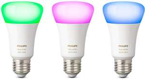 Philips Hue E27 3 stuks white and color