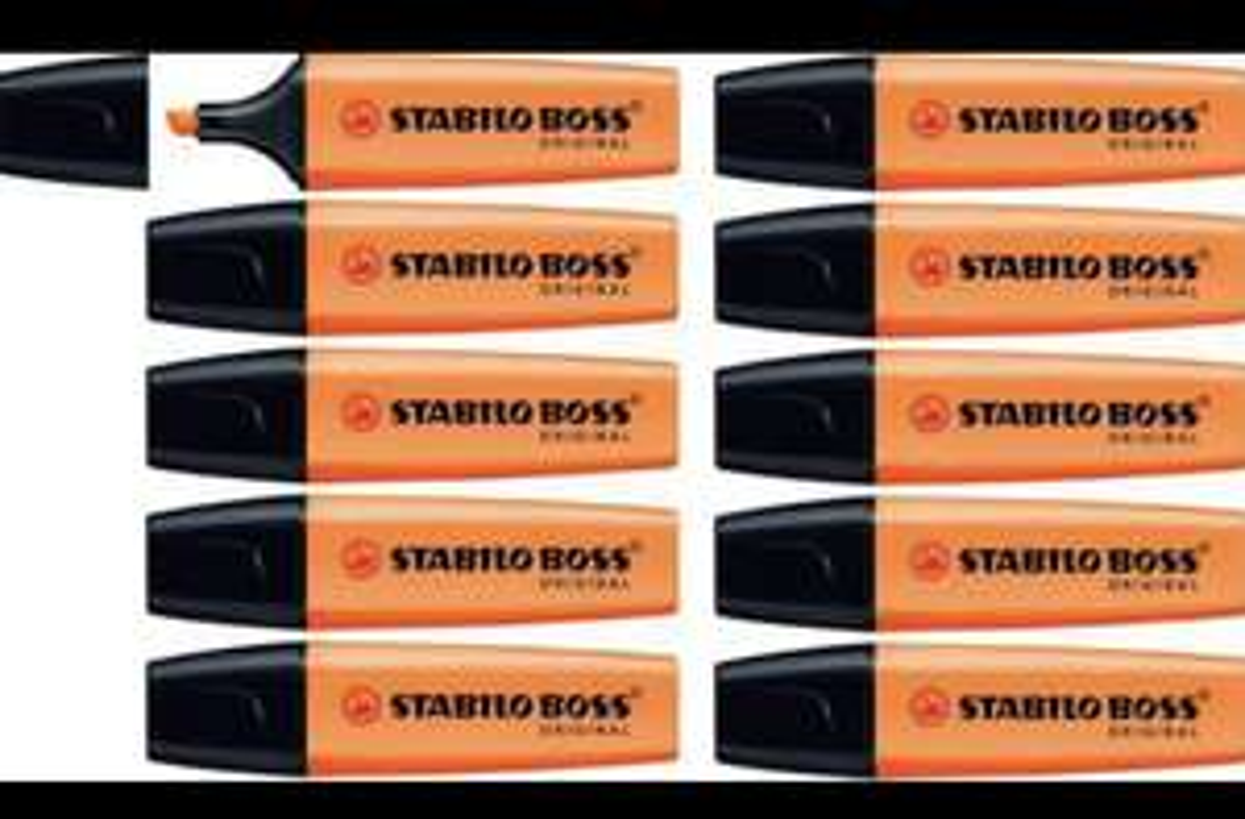 [Prijsfout] Doos 10x STABILO BOSS ORIGINAL Markeerstiften @ Bol.com