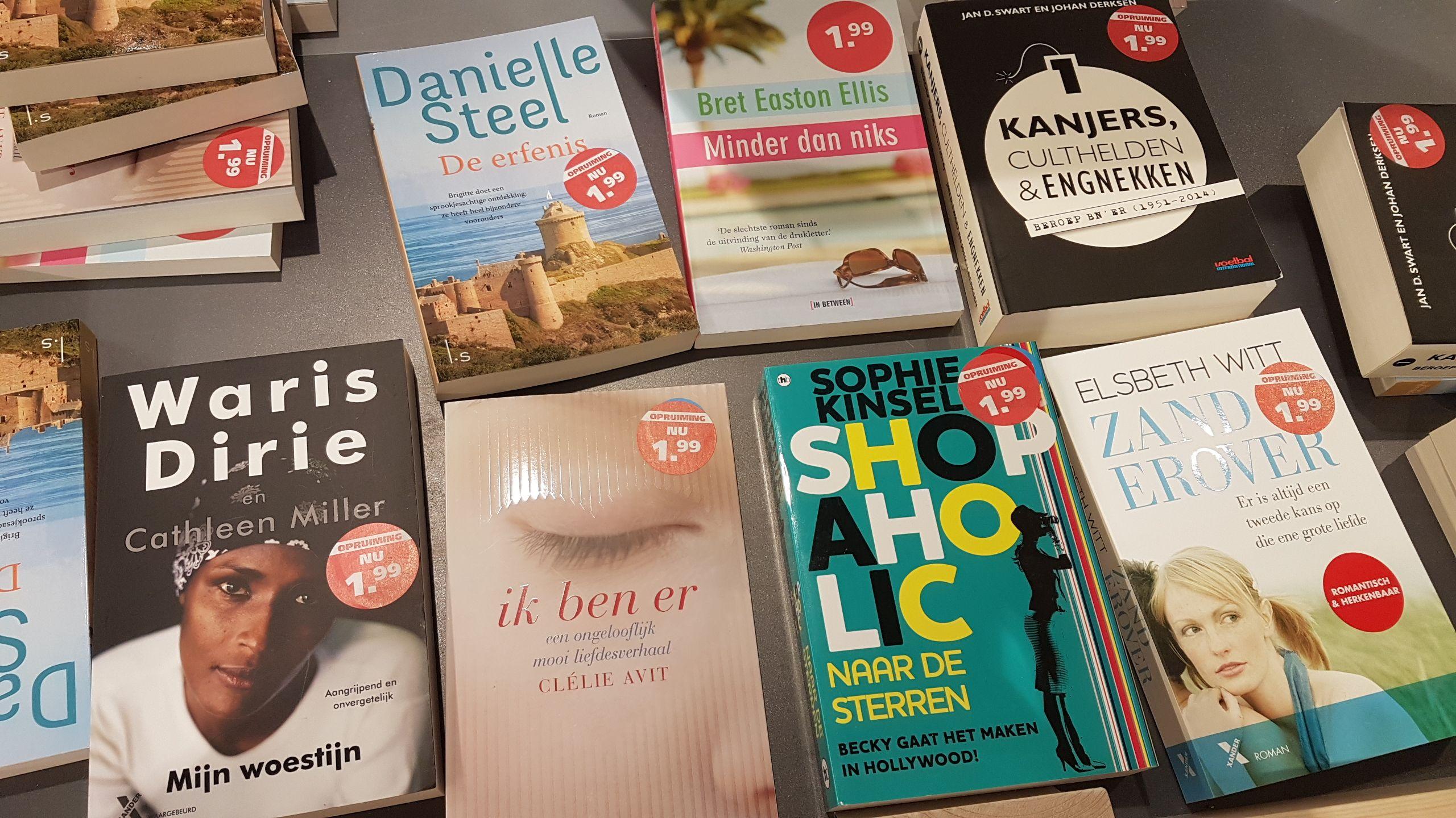 Diverse boeken voor 1,99 bij AH