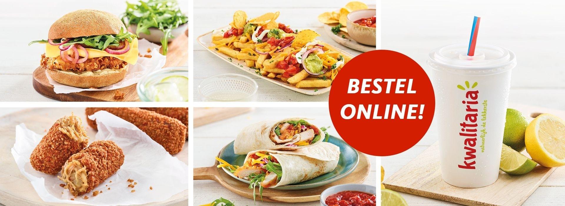 De 2 kipsate menu gratis met code kip11 bij kwalitaria