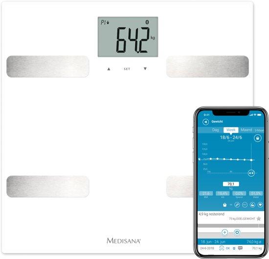 Medisana BS A43 Connect - Personenweegschaal