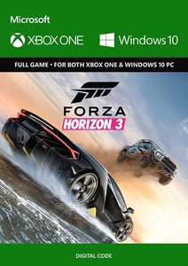Forza Horizon 3 Xbox One/PC (Play Anywhere)