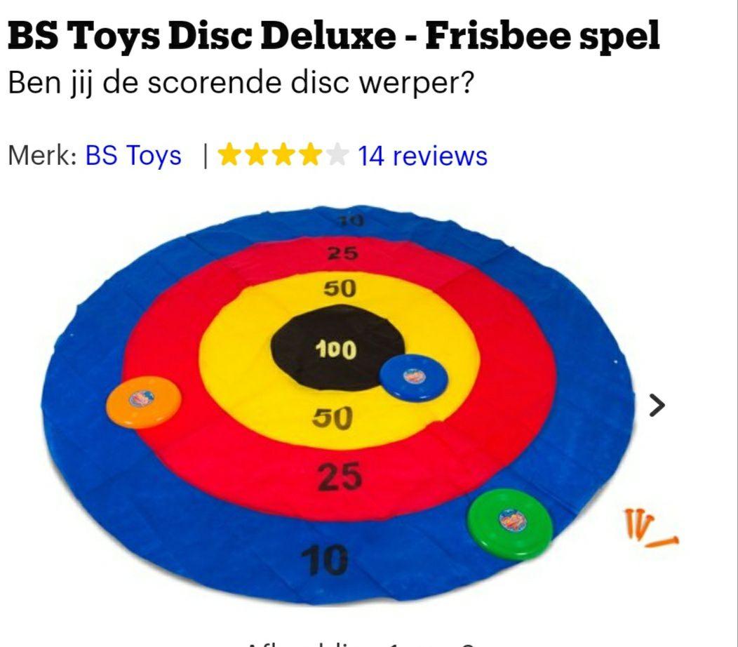 Frisbee pittenzak spel, bol.com