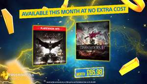 PlayStation Plus games voor September (Darksiders III & Batman: Arkham Knight)