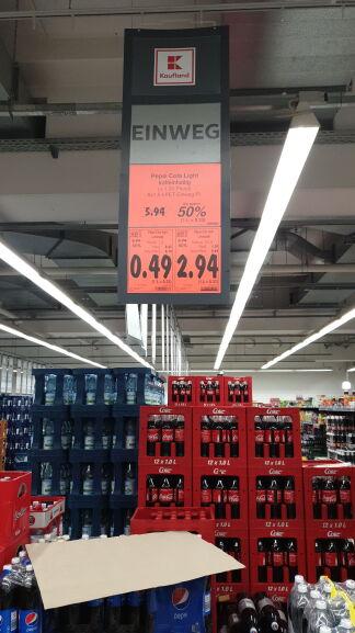 [Grensdeal Duitsland Kaufland] Pepsi cola 1.5 liter voor 0.49 euro