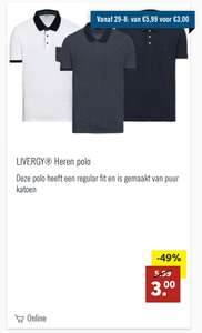 Diverse polo shirts voor 3 euro
