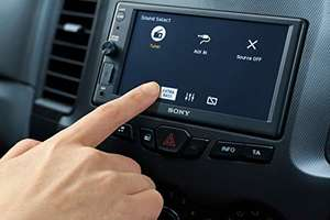 Sony XAV-AX1000 autoradio 2DIN met Apple CarPlay