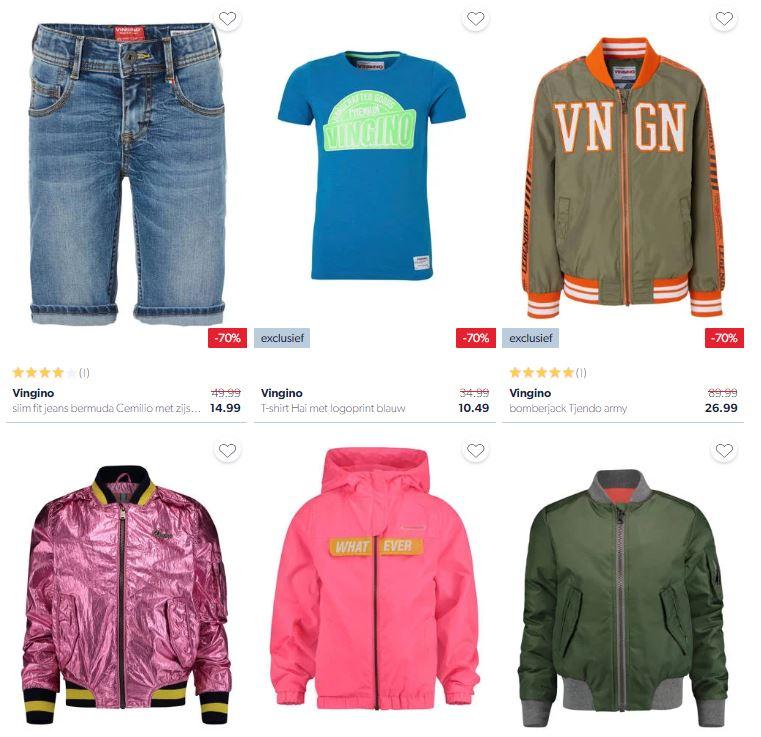 Vingino -70% (6 items) + meer met 60-65% korting @ Wehkamp